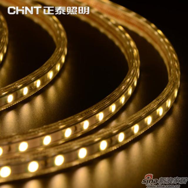 正泰LED灯带客厅吊顶天花板柜台明亮防水霓虹灯-1