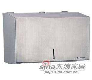 雅洁AT1504-P2(新)面巾纸箱+砂光304不锈钢-0