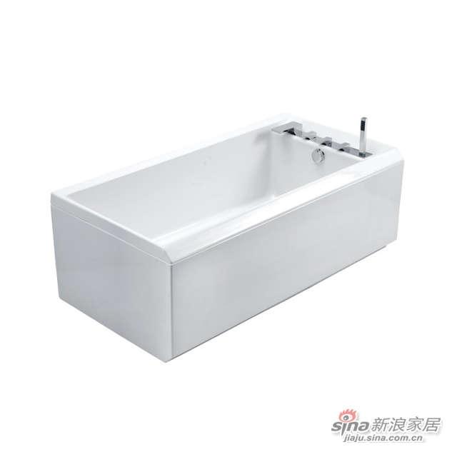 三面裙板浴缸(带龙头浴缸)-0