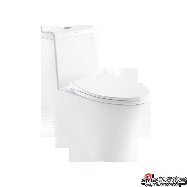 恒洁卫浴坐便器H0143D