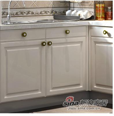 皮阿诺 整体厨房橱柜 欧式模压板 -5