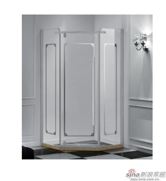 SH2-3021Z钻石型二固一开沐浴房