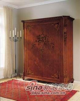 超舒适卧室系列暗香浮动衣柜