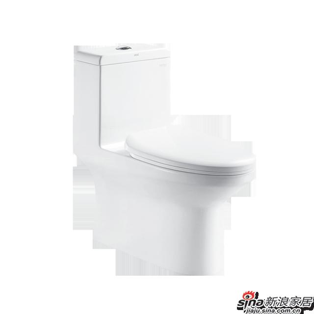 恒洁卫浴坐便器H0142D