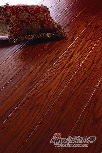 富得利三层实木复合地板红栎(美国红橡)自由女神FC-0201-40-MR-0
