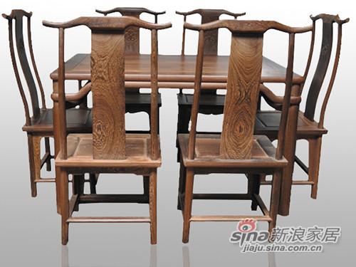 明式餐桌椅-1