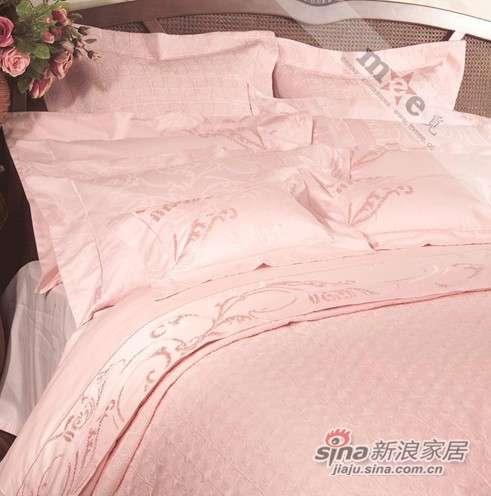 梦洁家纺床上用品 纯棉提花绣花含棉十一件套-0