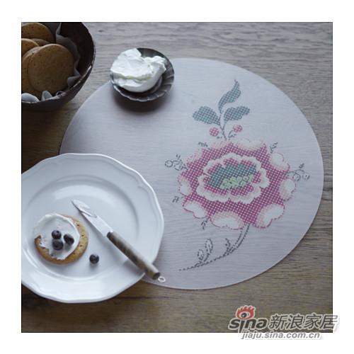 宜家英丹德花朵餐垫
