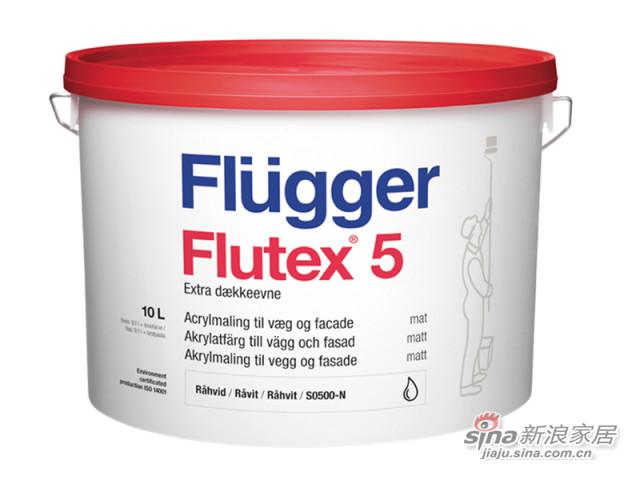 福乐阁Flutex 5第二代即刷即住墙面漆-0
