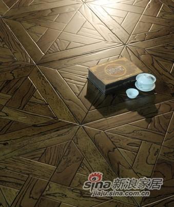 宏鹏地板艺术拼花系列—温莎古城堡PH198