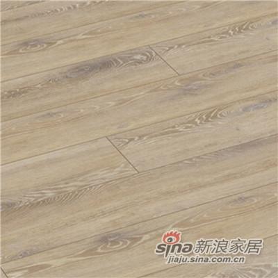 德合家ROOMS 强化地板RV810米色石灰橡木