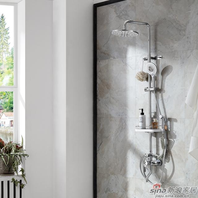 航标卫浴多功能单把淋浴柱