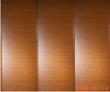 金丝柚木+波浪百叶+流线木纹 框