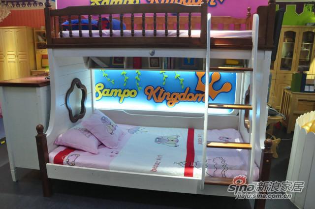 松堡王国双层床-1