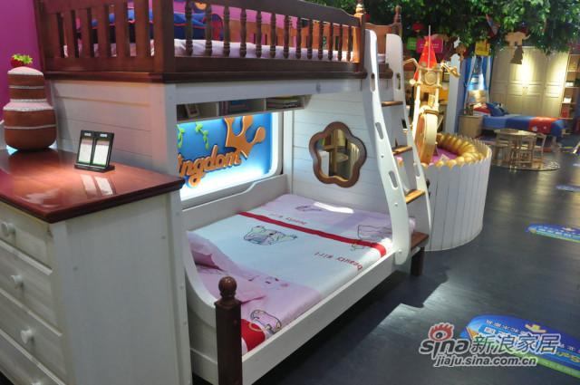 松堡王国双层床-3