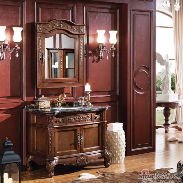 阿洛尼浴室柜-欧式仿古柜-A1607