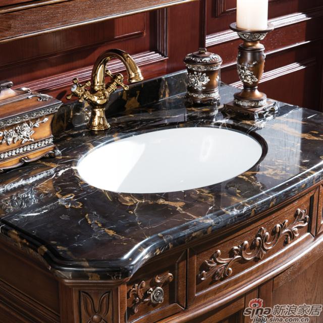 阿洛尼浴室柜-欧式仿古柜-A1607-1