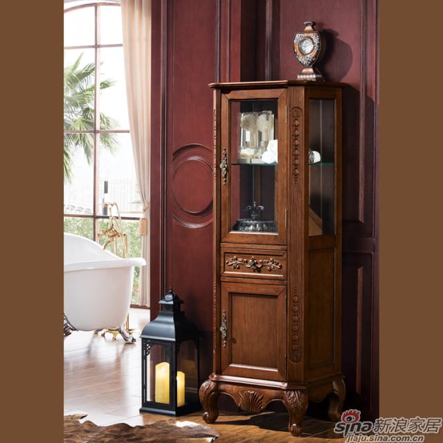 阿洛尼浴室柜-欧式仿古柜-A1607-2