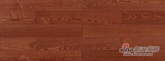 大卫地板经典实木-欧洲艺术系列S08LG07白蜡木(柚木色淋辊)-0