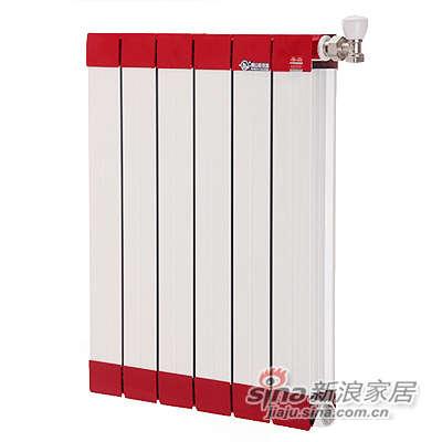 南山散热器铜铝复合散热器TB系列