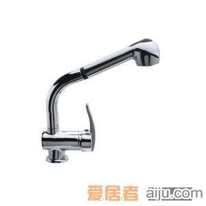 GORLDE单柄抽出式厨房水槽/洗菜池龙头XDD/225HS-CL1