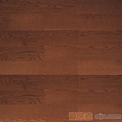 比嘉-实木复合地板-雅舍系列:咖啡柞木(910*125*12mm)1