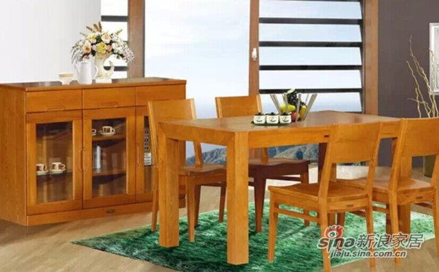 华丰YBRT1307餐桌椅-2