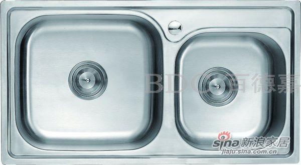 百德嘉五金龙头挂件-H762007不锈钢水槽-0
