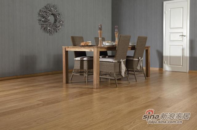 得高karelia三层实木地板 古典橡木-1