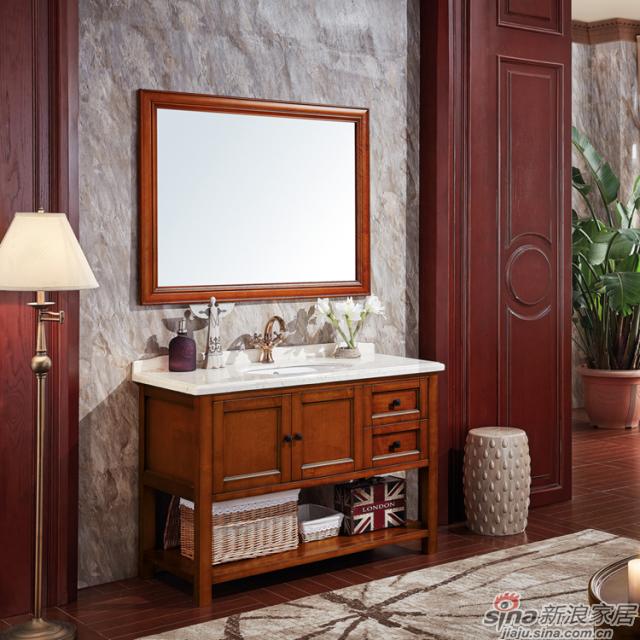 阿洛尼浴室柜-美式浴室柜-A1819