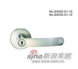 雅洁AS4021-01-12带匙球锁+尼龙镍-0