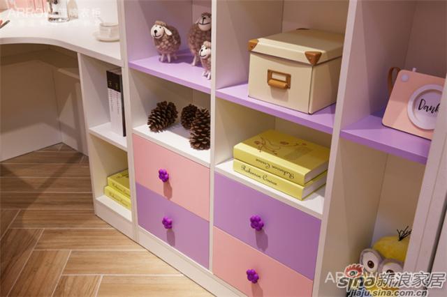 箭牌衣柜【梦幻乐园】女孩房-2