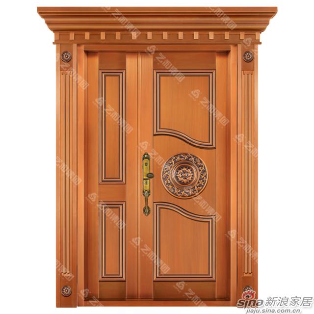 铜门8325