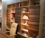 超级时尚的现代风书柜 可配套电脑桌