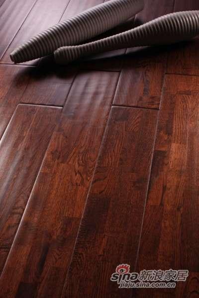 富得利实木地板(欧洲橡木)罗马古城FA-0142-R仿古A(三拼)-0