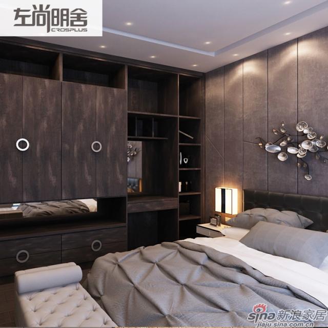 左尚明舍现代卧室-0