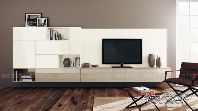 简约而不简单 不规则美电视柜设计-0