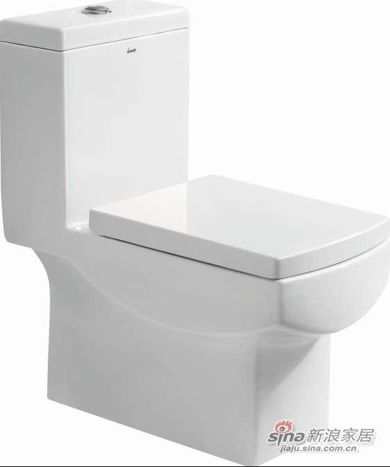 华盛卫浴连体座便器HTZ1005