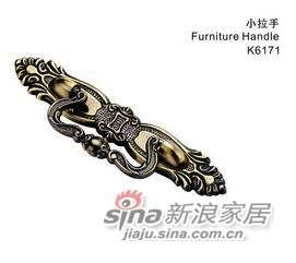 雅洁AK6171-64mm-21仿古小拉手+青古铜-0