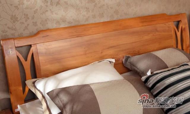 浪度原木色板床-2