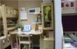 ABCLH-A028双抽书柜书台
