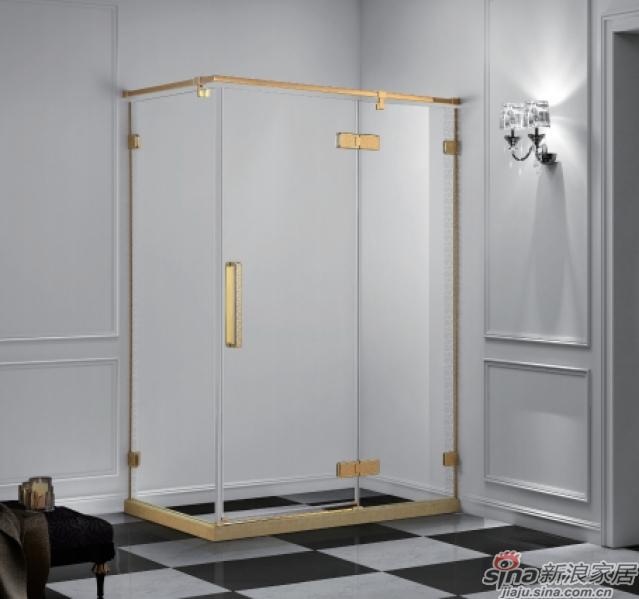 方形二固一开沐浴房