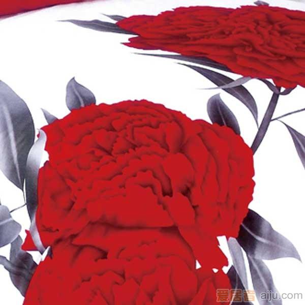 家元素床上用品-爱相伴(白)四件套纯棉-HD15000011