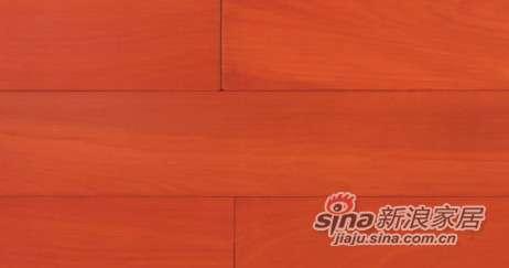 锦绣前程实木地板红木色类—黄胆木
