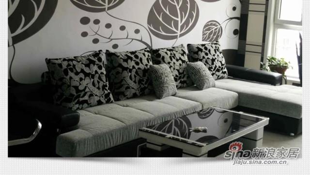 格调布垫沙发SFB8196B