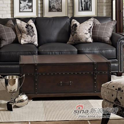 艾芙迪 客厅家具 茶几 几类 皮箱式 可展开 ALS99-210