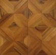 木蜡油纯生地板-S500黑金线拼花F12