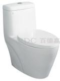 百德嘉陶瓷件连体座便器-H331115