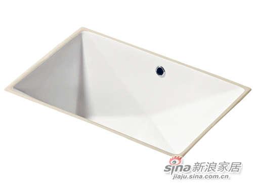 成霖高宝卫浴钻石形台下盆-0