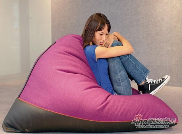 依诺维绅创意地板沙发椅 特大豆袋
